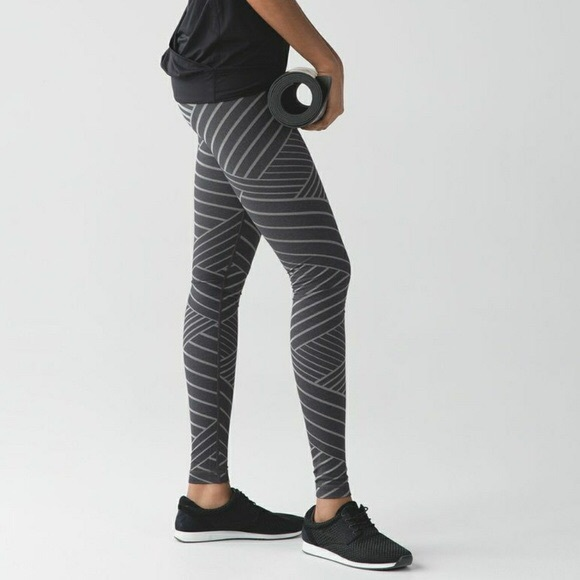 ee696d85aeecd7 lululemon athletica Pants | Lululemon Metallic Lumatrix Wunder Under ...